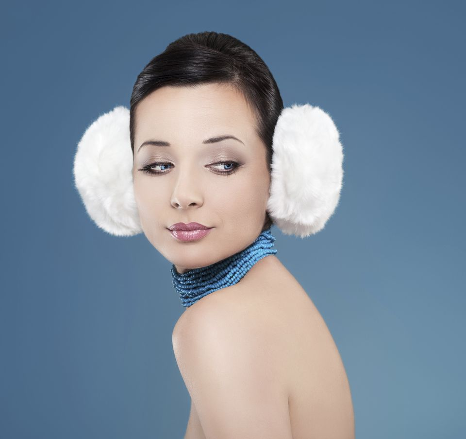 Earmuffs will warm up any cold shoulder.