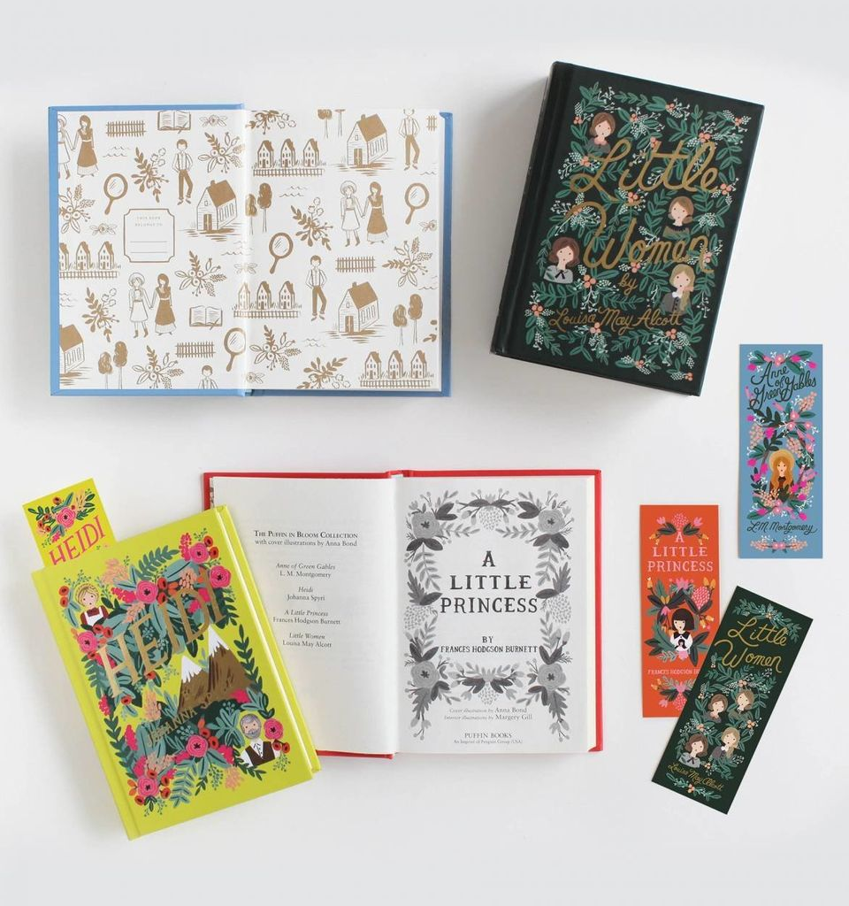 If we were still young, we'd covet these colorful, meticulously designed editions of classics starring our favorite child her