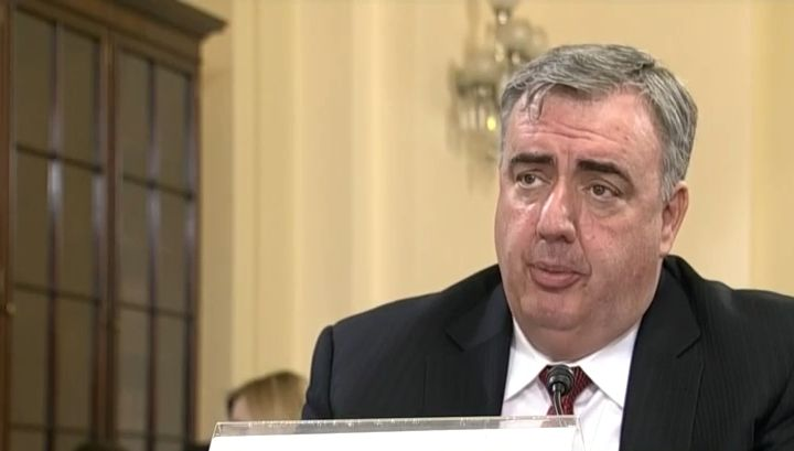 Former BPD Commissioner Edward Davis, at a hearing before the House of Representatives, Homeland Security Committee in June 2014.