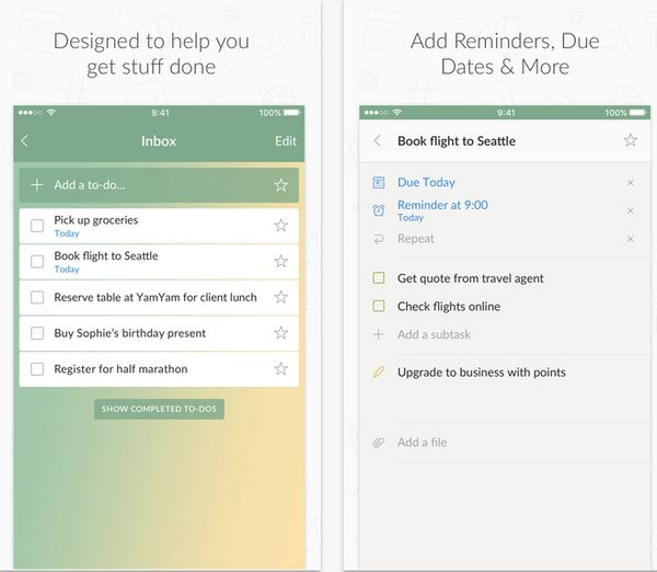 """Wunderlist is a <strong>simple to-do list and task manager app that helps you get stuff done</strong>. Whether you&rsquo;re"