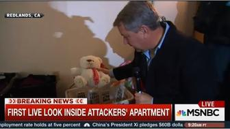 First live shots of the teddy bear of an innocent child.