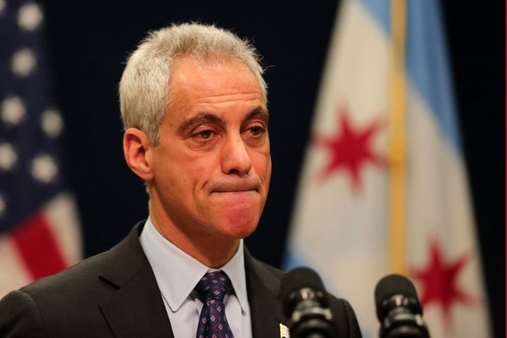 Chicago Mayor Rahm Emanuel defended his decision not to release the Laquan McDonald video sooner.