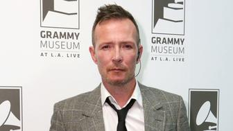 LOS ANGELES, CA - OCTOBER 05:  Singer Scott Weiland attends An Evening With Scott Weiland at The GRAMMY Museum on October 5, 2015 in Los Angeles, California.  (Photo by Rebecca Sapp/WireImage)