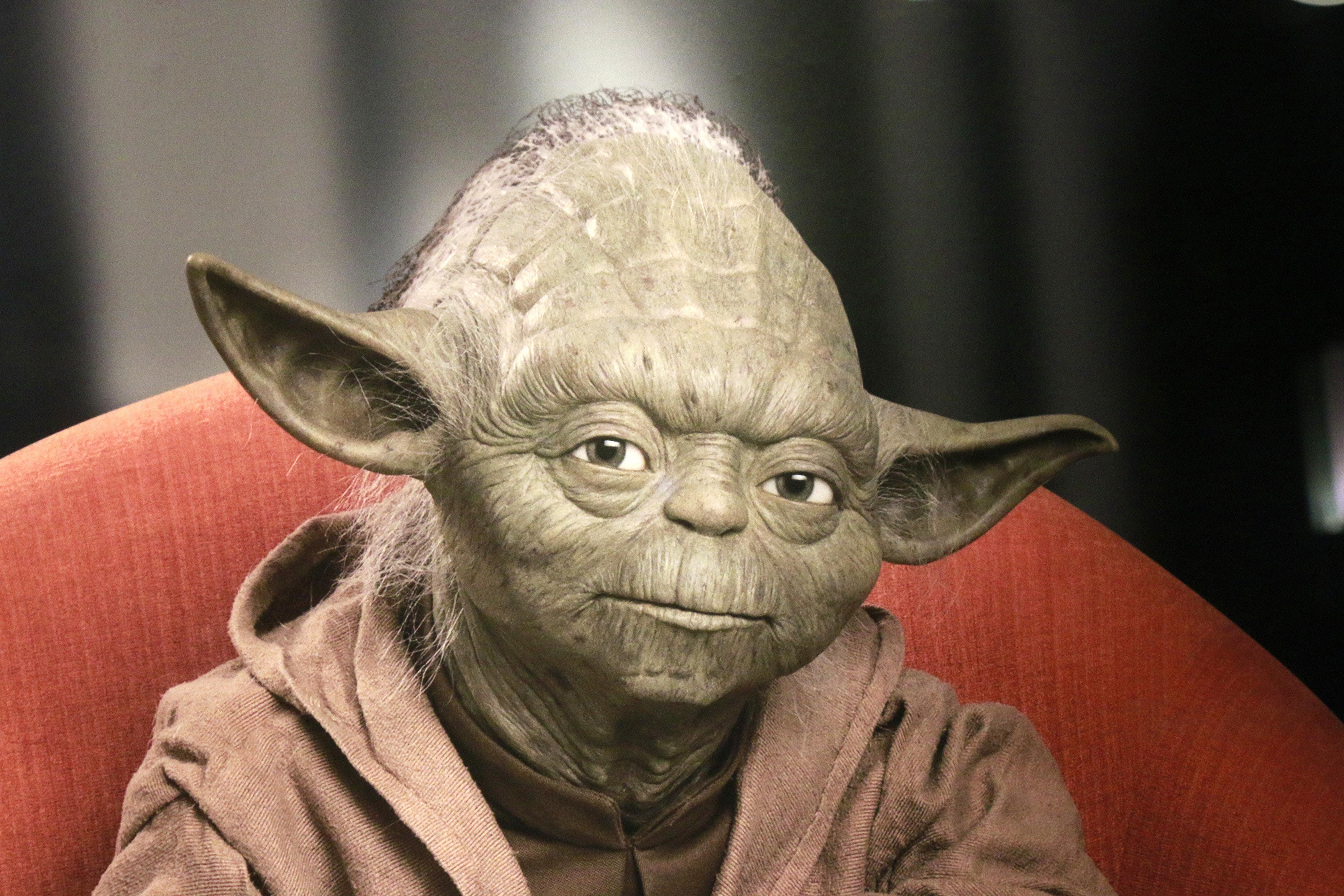 "CIRCA JUNE 2015 - BERLIN: the ""Yoda"" character of the Star Wars-Series, Berlin."