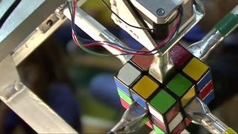 robot rubik's cube