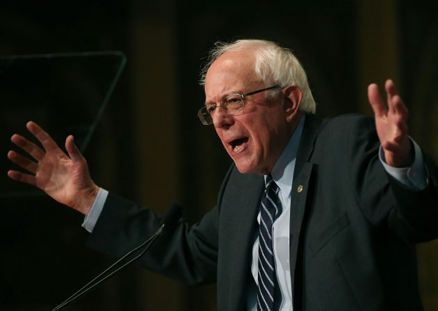 Bernie Sanders Unveils Forceful Climate Change Plan, And He's Going After Big