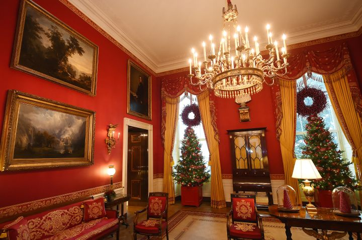 The Red Room at the White House on Dec. 2, 2015.