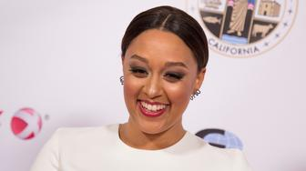 BEVERLY HILLS, CA - NOVEMBER 13:  Actress Tia Mowry-Hardrict attends the 13th Annual Rhapsody Gala hosted by YWCA at the Beverly Wilshire Four Seasons Hotel on November 13, 2015 in Beverly Hills, California.  (Photo by Vincent Sandoval/FilmMagic)