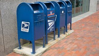 Mailboxes, Providence, Rhode Island