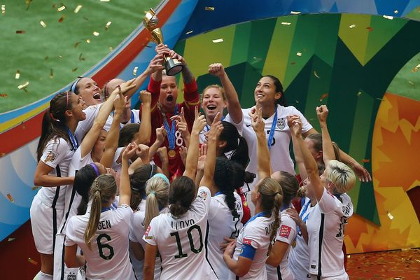 "On <a href=""http://www.huffingtonpost.com/2015/07/05/usa-japan-world-cup_n_7732442.html"">July 5</a>, the U.S. Women's Nationa"