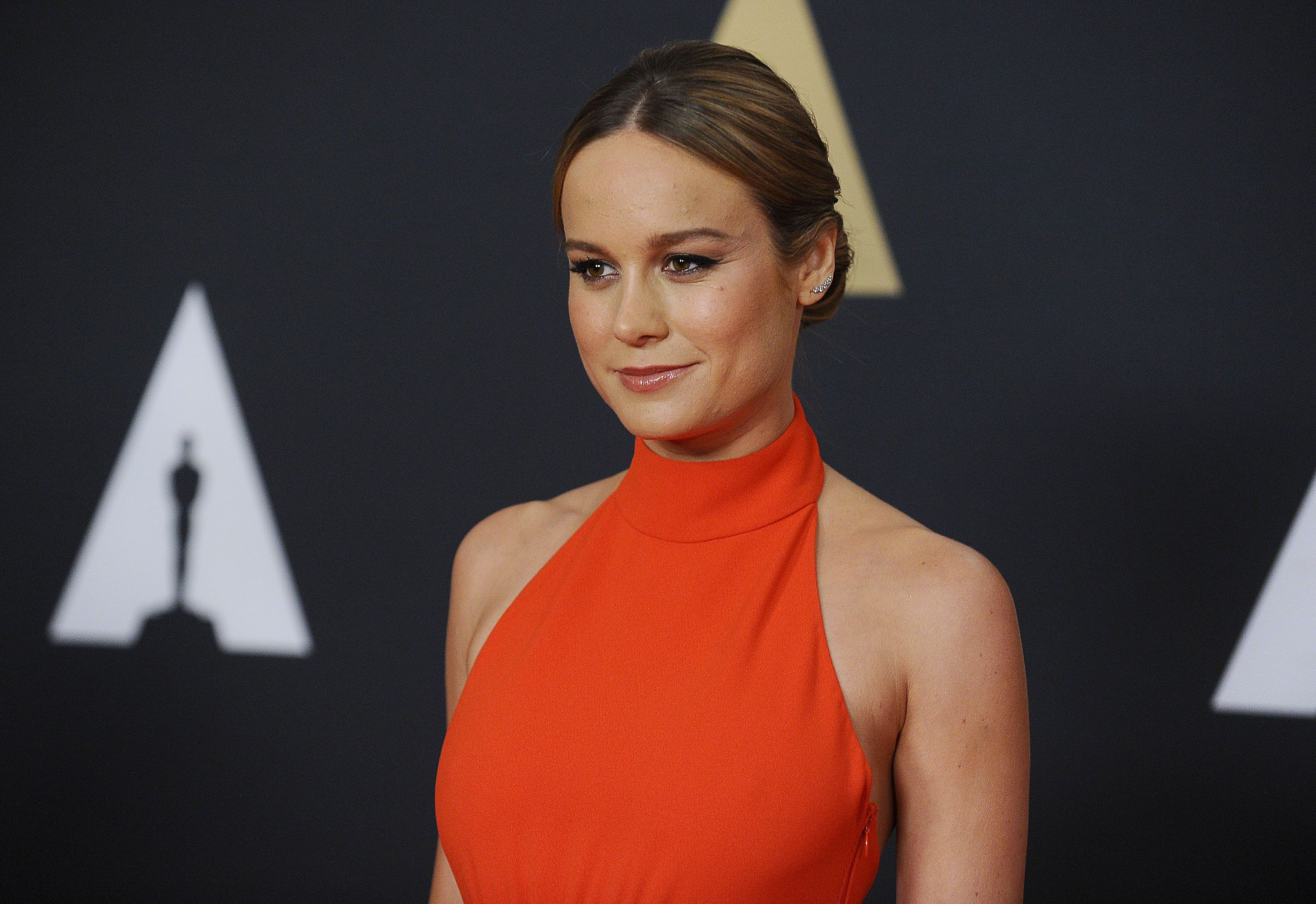 HOLLYWOOD, CA - NOVEMBER 14:  Actress Brie Larson attends the 7th annual Governors Awards at The Ray Dolby Ballroom at Hollywood & Highland Center on November 14, 2015 in Hollywood, California.  (Photo by Jason LaVeris/FilmMagic)