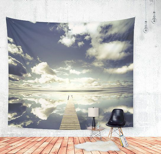 """Vanity Wall Tapestry, $73 at <a href=""""https://www.etsy.com/listing/245785969/vanity-wall-tapestry-beautiful?ga_order=most_rel"""