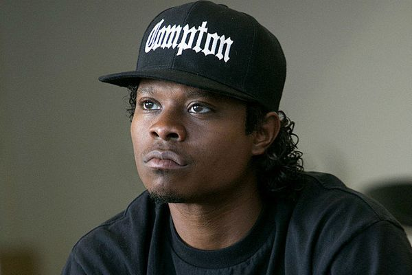"Jason Mitchell has one huge advantage in this race: His character in ""Straight Outta Compton,"" Eazy-E, has a big,"