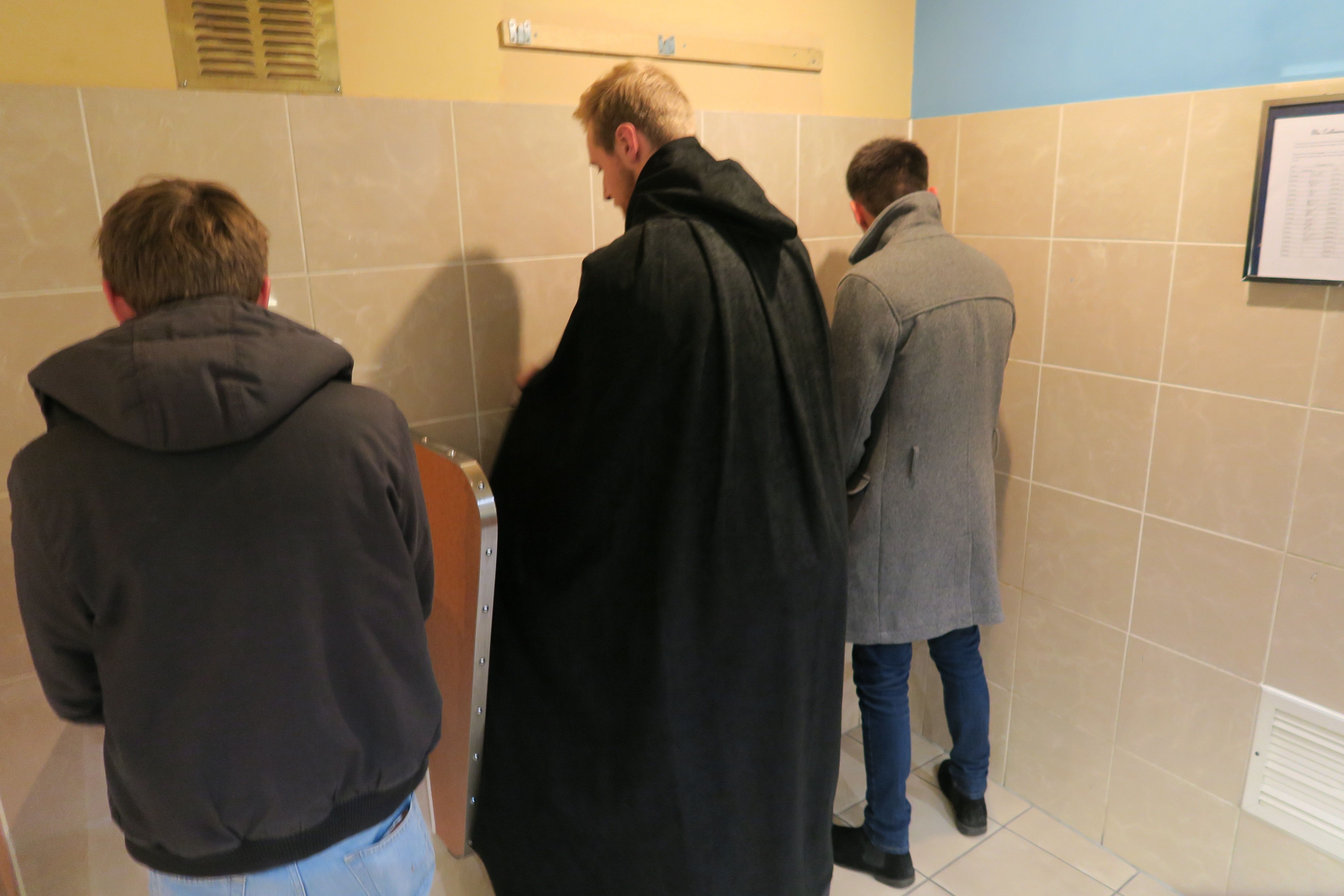 Too Shy To Pee In A Public Bathroom? Urine
