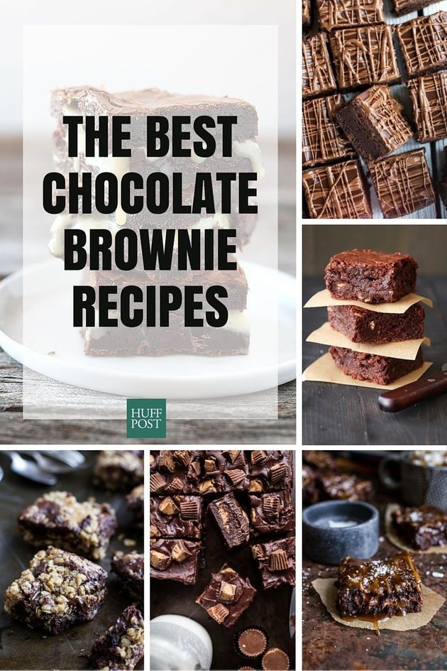 Brownie Recipes That'll Make You Weak In The
