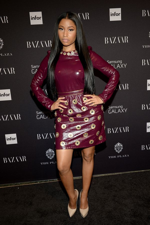 50 Of The Craziest Outfits Nicki Minaj Bravely Wore In Public Huffpost