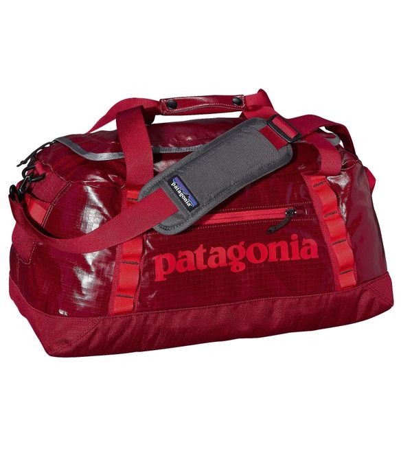 """Classic Red Duffel, $99 at <a href=""""http://www.patagonia.com/us/product/black-hole-duffel-45-liters?p=49336-0"""" target=""""_blank"""