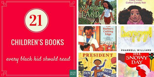 21 Children's Books Every Black Kid Should