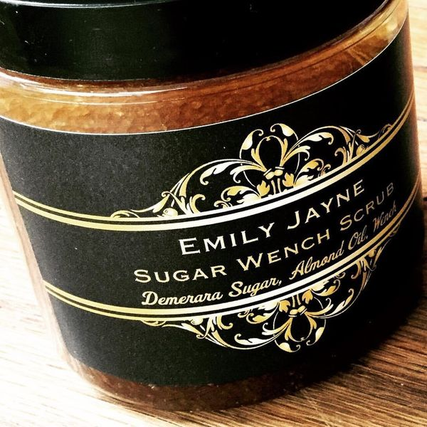 Sweet almond oil, demerara sugar and Emily Jane's signature Wench fragrance make this exfoliant a true luxury. <br><br>Price: