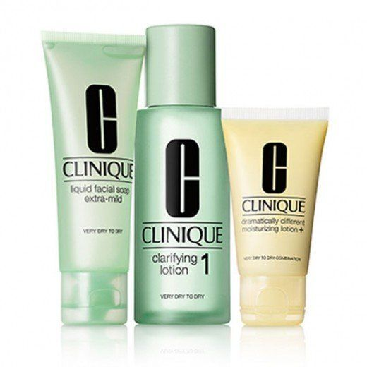 Clinique's three-step system makes it simple to keep your skin radiant and refreshed. Select the perfect combination of produ