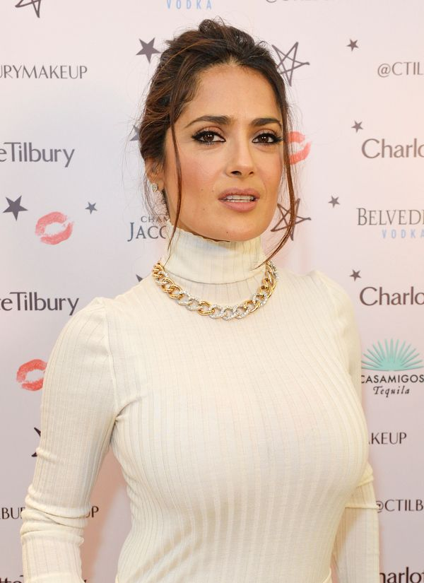 "The Oscar-nominated actress turns 50 on <a href=""http://www.biography.com/people/salma-hayek-14514423"">September 2.&nbsp;</a>"