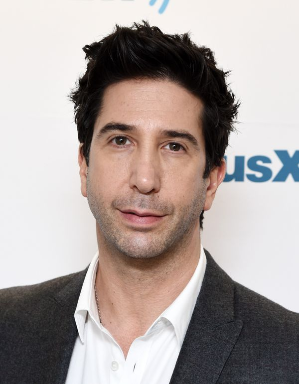 "The ""Friends"" actor turns 50 on <a href=""http://www.biography.com/people/david-schwimmer-9476478#synopsis"">November 2.&nbsp;<"