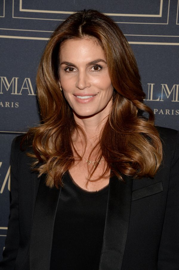 "The supermodel turns 50 on <a href=""http://www.biography.com/people/cindy-crawford-9542465"">February 20.&nbsp;</a>"