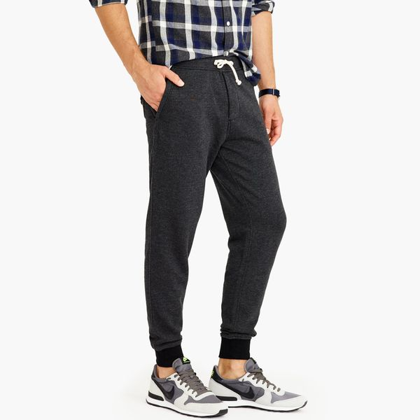 """A guy <i>probably</i> isn't going to spend $70 on a pair of sweat pants for himself, but if you got him this <a href=""""https:/"""