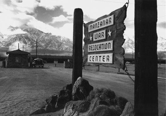 Entrance to Manzanar, 1943