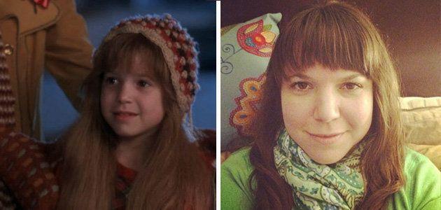 elllen latzen then and now - Christmas Vacation Movie Cast
