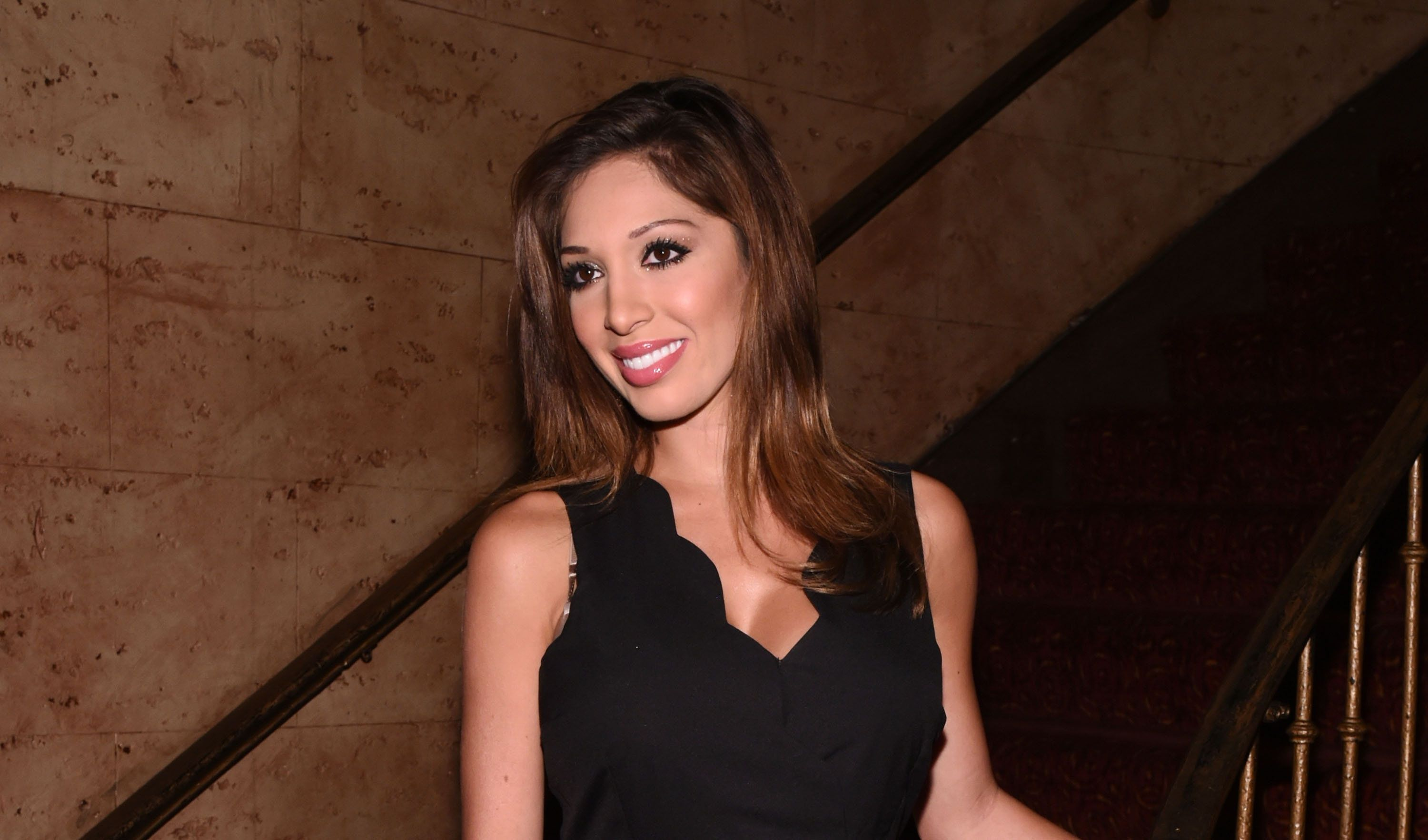 NEW YORK, NY - AUGUST 06:  TV personality Farrah Abraham attends 'The Runner' New York Special Screening at Village East Cinema on August 6, 2015 in New York City.  (Photo by Ilya S. Savenok/Getty Images)