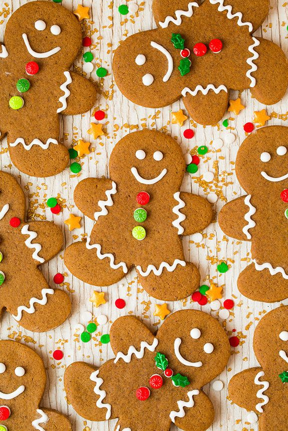 """<strong>Get the <a href=""""http://www.cookingclassy.com/2015/11/gingerbread-cookies/"""">Gingerbread Cookie recipe </a>from Cookin"""