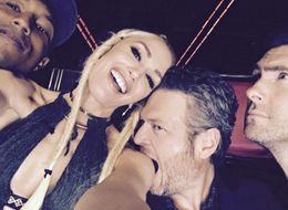 Gwen Stefani And Blake Shelton's PDA Is Too Cute To Handle