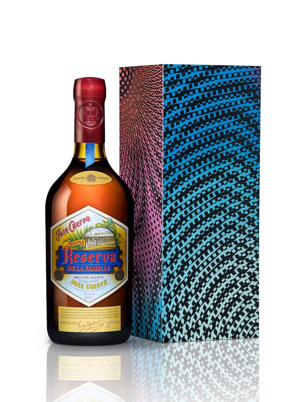 The best tequila is the kind you sip, and this bottle, from Jose Cuervo's Reserva de la Familia line, is just what he needs (