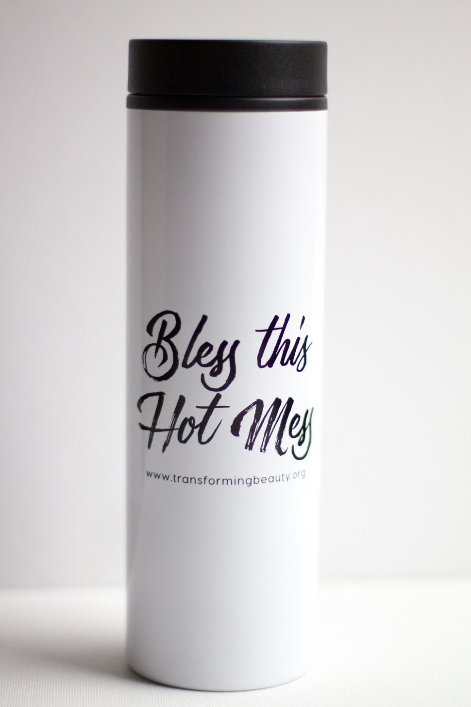 "<a href=""http://www.transformingbeautyshop.com/products/bless-this-hot-mess-travel-coffee-mug"">Bless This Hot Mess Travel Cof"