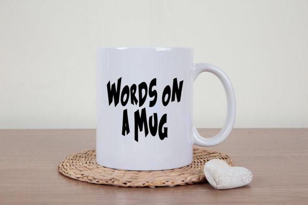 """Sarcastic Mug, $14,<a href=""""https://www.etsy.com/listing/237329278/sarcastic-coffee-mug-words-on-a-mug"""" target=""""_blank"""""""