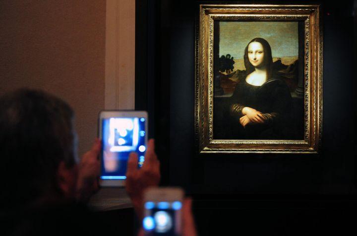 Scientist Discovers Hidden Portrait Beneath The Mona Lisa