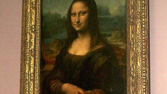 mona lisa (the actual real one in the louvre)
