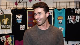 LAS VEGAS, NV - JANUARY 22:  Adult film actor/director James Deen attends the 2015 AVN Adult Entertainment Expo at the Hard Rock Hotel & Casino on January 22, 2015 in Las Vegas, Nevada.  (Photo by Ethan Miller/Getty Images)