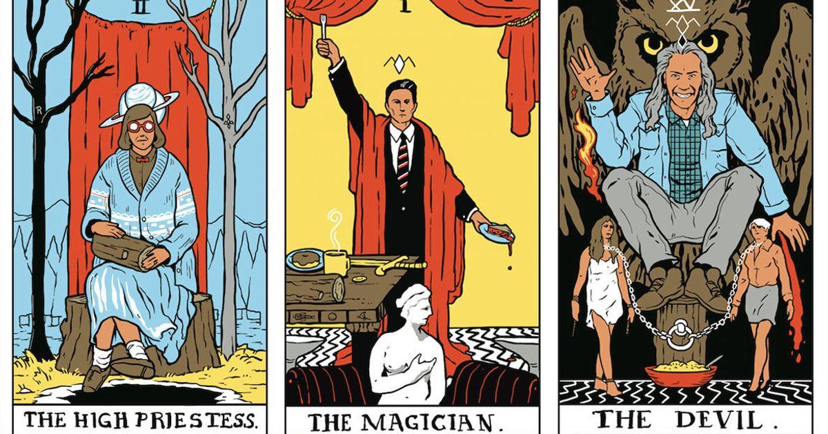 'Twin Peaks' Tarot Card Art Is Simply Divine