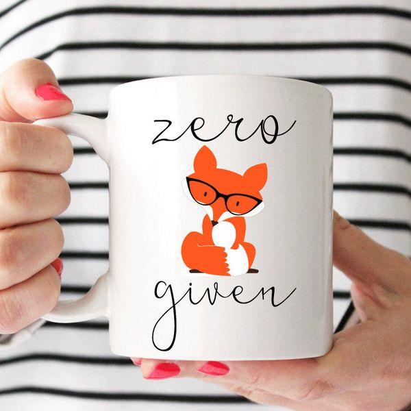 """<a href=""""https://www.etsy.com/ca/listing/223114048/zero-fox-given-mug-fc-original-fox-mug"""">Zero Fox Given Mug, $18</a>"""