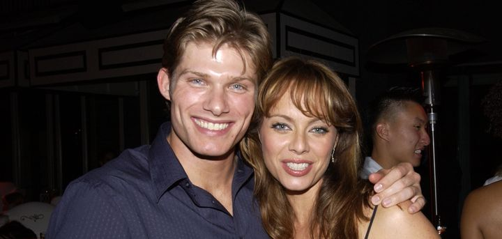 """Chris Carmack and Melinda Clarke who played the lovers, Luke and Julie, on """"The O.C."""""""