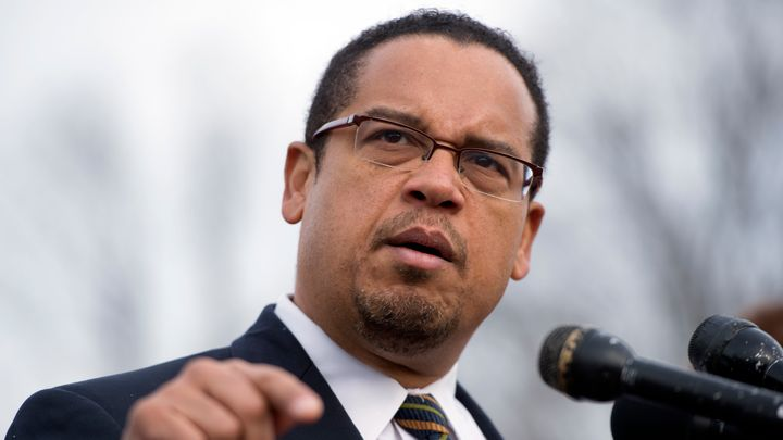"""Rep. Keith Ellison said Trump is """"bringing back an old, ugly thing."""""""