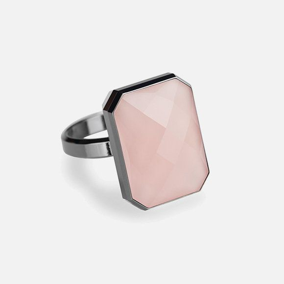 Ringly connects to cell phones via Bluetooth. The ring vibrates and subtly lights up only when it receivesurgent messag