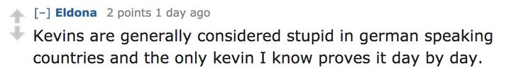 Apparently, Some Countries Really Hate The Name 'Kevin