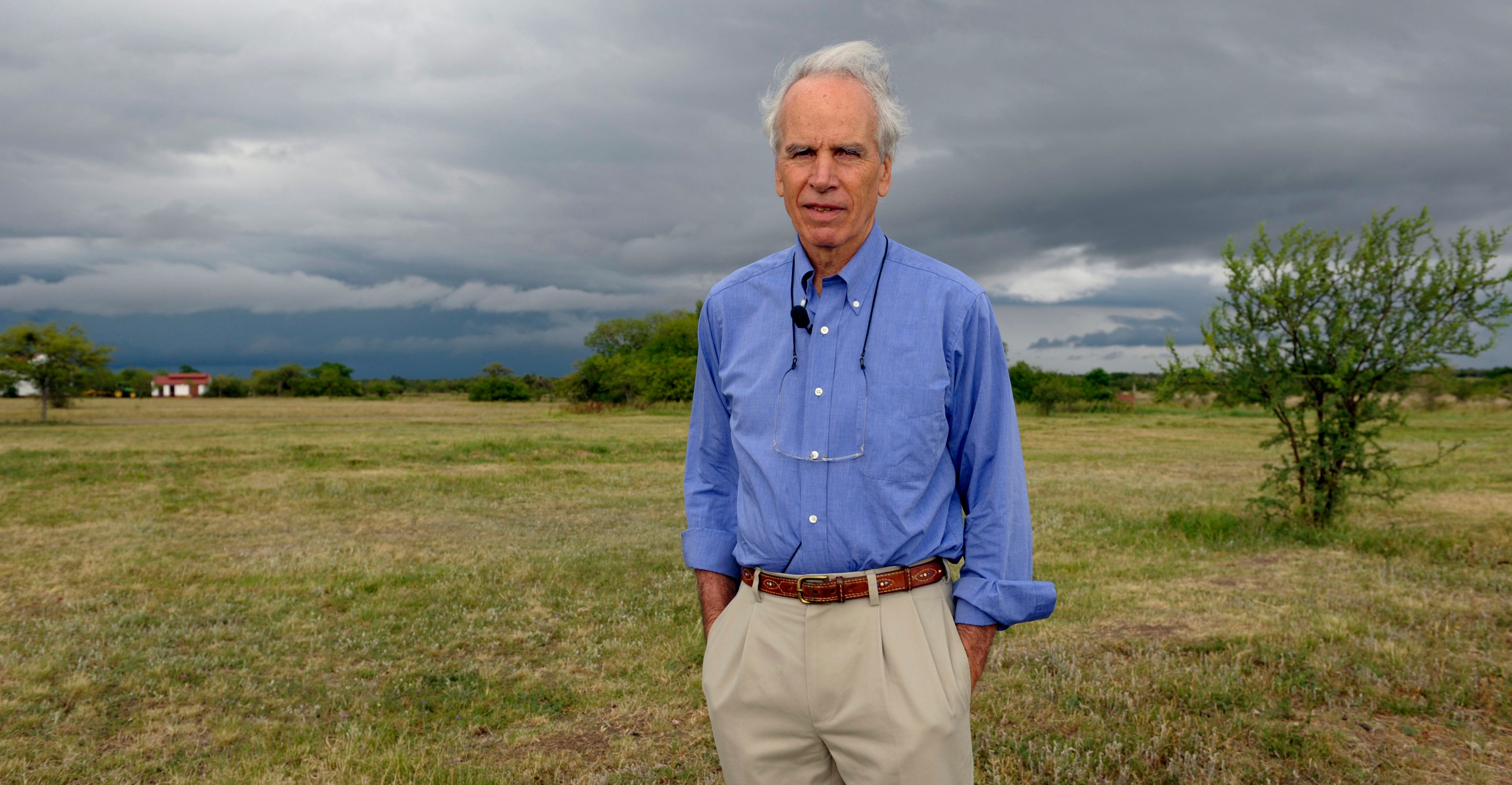Douglas Tompkins, pictured in Argentina in 2009, died on Tuesday in a kayaking accident in Patagonia.