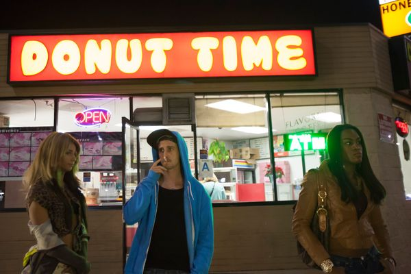 "No money to make your movie? No problem, said Sean Baker, who shot ""Tangerine"" on iPhones for a paltry $100,000. It sounds li"
