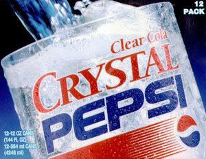 they should bring back Crystal Pepsi