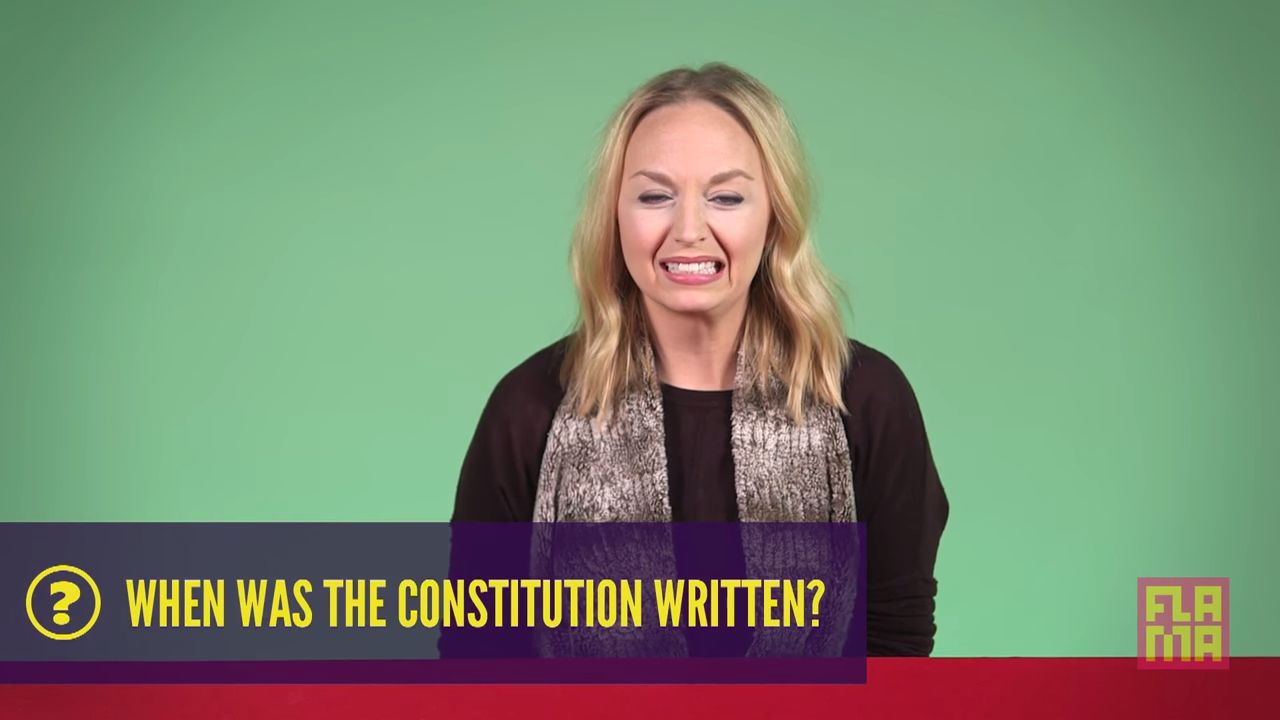Who knew basic questions about U.S. history could be so hard?