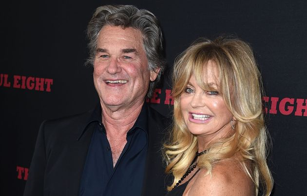 Goldie Hawn and kurt russell married